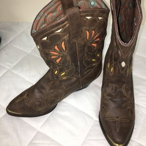Dingo Leather Boots